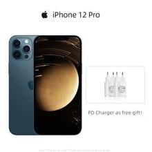 Аутентичный оригинальный новый Apple iPhone 12 Pro 5G смартфон 6,1% 22 XDR Дисплей A14 Набор микросхем 12MP Triple Camera Face ID IOS 14 Mobile
