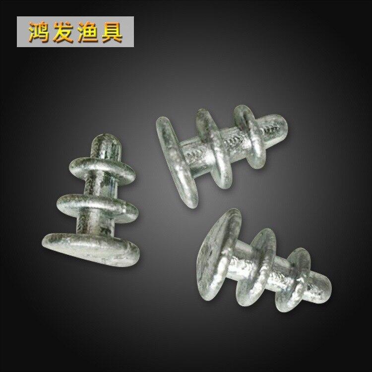 Pagoda Sinker Cone Tongxinluo Sinker Net Casting Fishing Sinker Fishing Gear