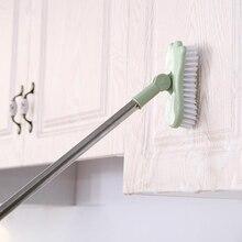Telescopic bathroom long handle hard bristle brush scrub toilet bathtub brush tile floor cleaning brush
