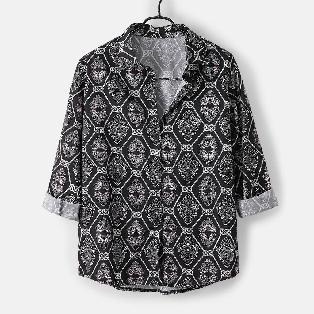 Men Shirts Casual Daily Leopard Print  Shirts 4