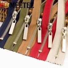 2Pcs 3# 20cm Lightgold Closed-End Metal Zippers For Bag Wallet Skirts Zipper Sewing Cremalleras Costura Fermeture Eclair