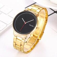 Reloj Mujer New Fashion Casual Simple Wrist Watch for Women Stylish Ladies Gold Steel Quartz Watches Female Clock Zegarek Damski