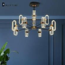 Скандинавский дизайн светодиодный подвесной светильник для гостиной
