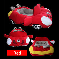 Cool Car Bed Pet Dog Bed Fashion Car Shape Soft Material Durable Nest Dog Cat House Warm Cushion for Teddy Kennels Fast Shipping