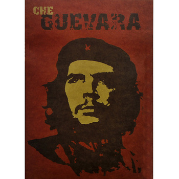 Great man Che Guevara Vintage Wall Stickers Posters and Prints Steampunk Retro Print Paper Living Bedroom Bar Coffee Poster image