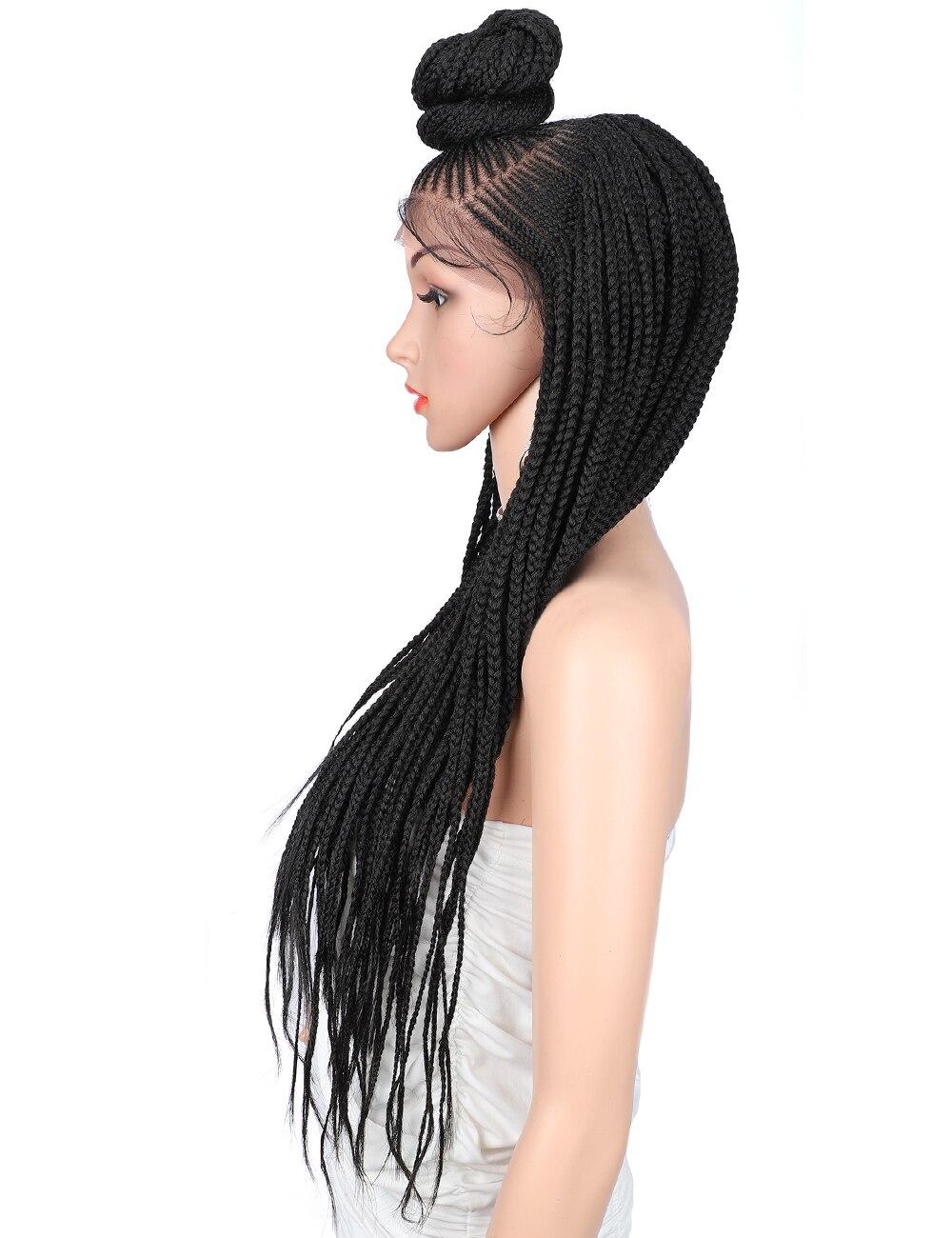 Kaylss 13x7 perucas trançadas à mão 30