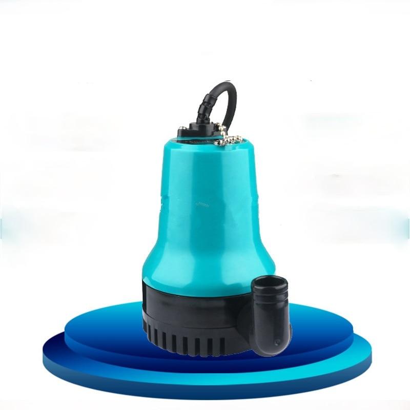 50W 4500L/H 5m DC 12V/24V Solar Water Pump Brush Motor  Circulation Submersible  Irrigation Fountain Fish Pond