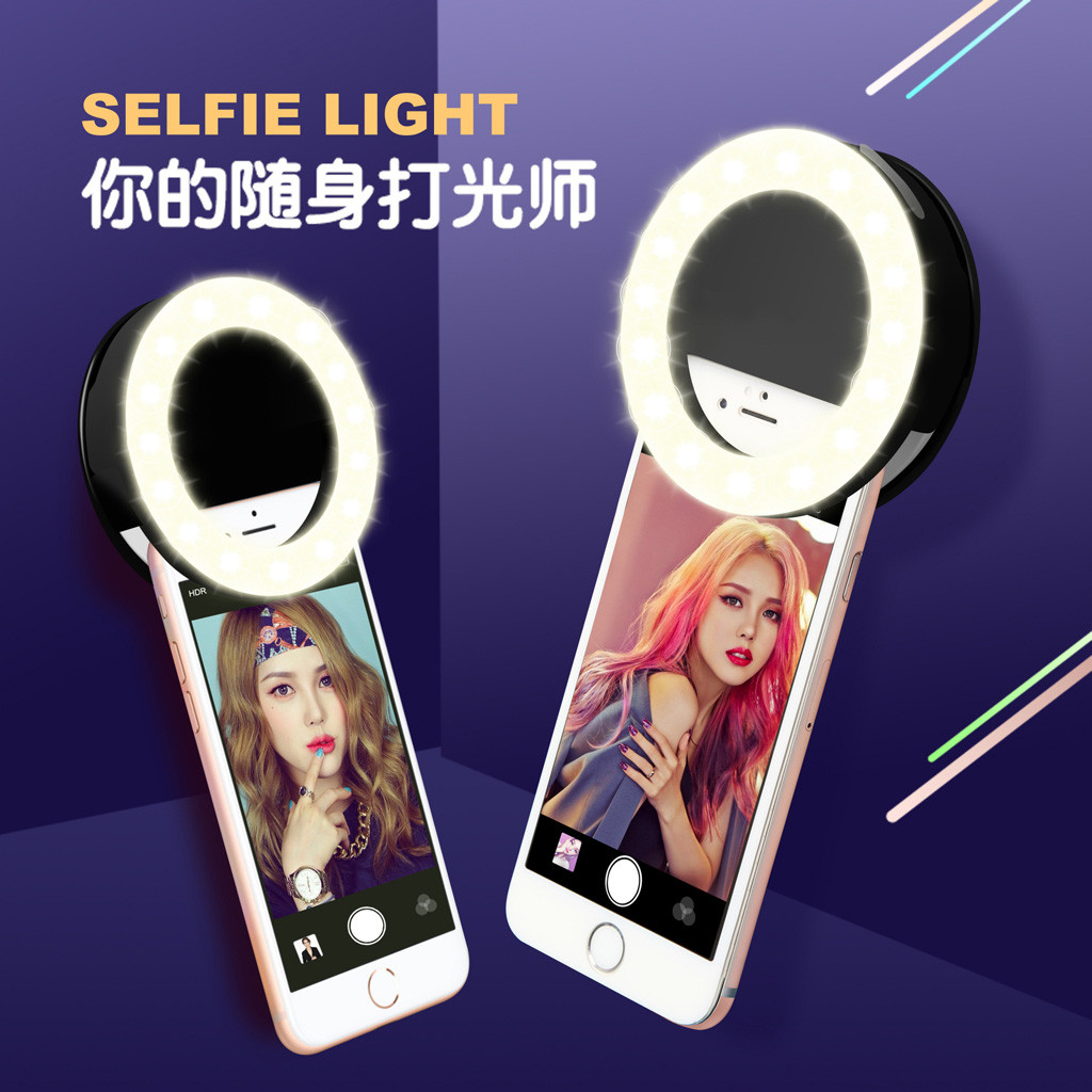 cheapest ringlight 10 Inch LED Dimmable Makeup Three Modes Desktop Selfie Ring Fill Light for Live Video with Tripod Mobile Phone