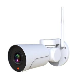 Image 4 - Full HD Mini bala Wifi cámara IP PTZ 2.0MP impermeable 4x Zoom Varifocal Pan Tilt infrarrojo inalámbrico CamHi WIFI Cámara al aire libre