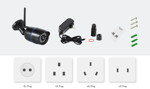 Image 5 - USAFEQLO Audio Record HD 1080P Wifi IP Camera P2P 1080P CCTV Security Surveillance With Micro SD/TF Card Slot iCsee Waterproof