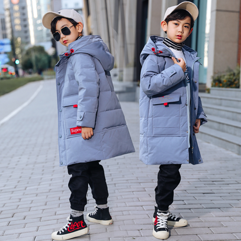 HSSCZL Jackets Outerwear Overcoat Duck-Down Girls Boys Kids Winter Children's New-Fashion