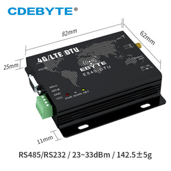 E840-DTU (4G-02E) LTE-FDD 4G Módulo Modem LTE WCDMA GSM IoT M2M Transceptor de Dados Sem Fio