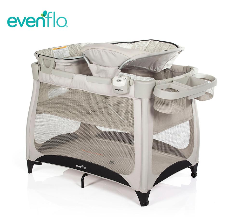 Evenflo Vill4 4-IN-1 PLAYPEN Baby Playcot Smart Multi-functional Comfort