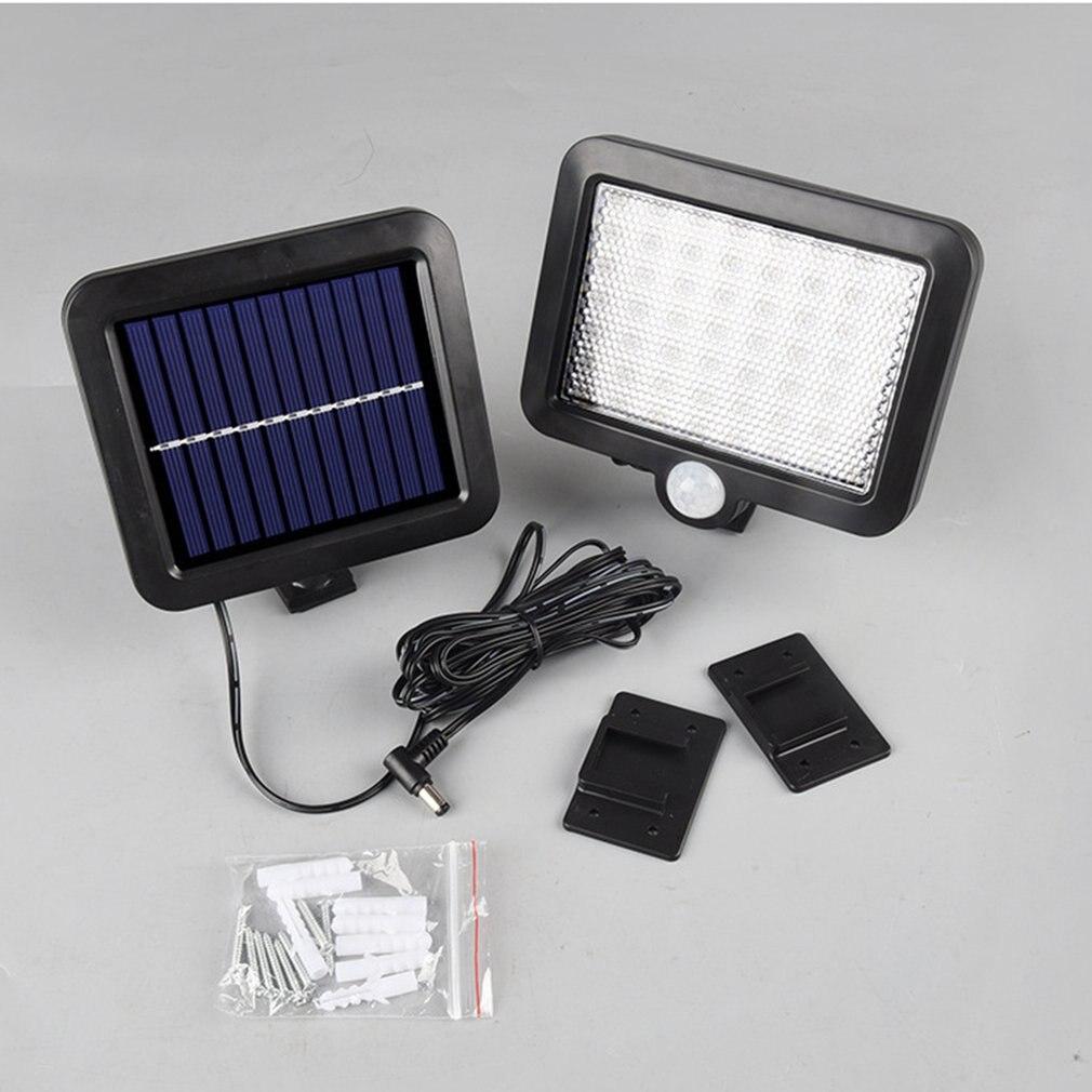 LED Solar Light Outdoors Garden Light Waterproof PIR Motion Sensor Wall Lamp Spotlights Security Emergency Street Lamp
