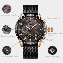 купить LIGE Hot Mens Watches Top Brand Luxury Gift Quartz Watch Men Casual Waterproof Reloj Hombre Sport Watch Date Relogio Masculino по цене 1106.58 рублей
