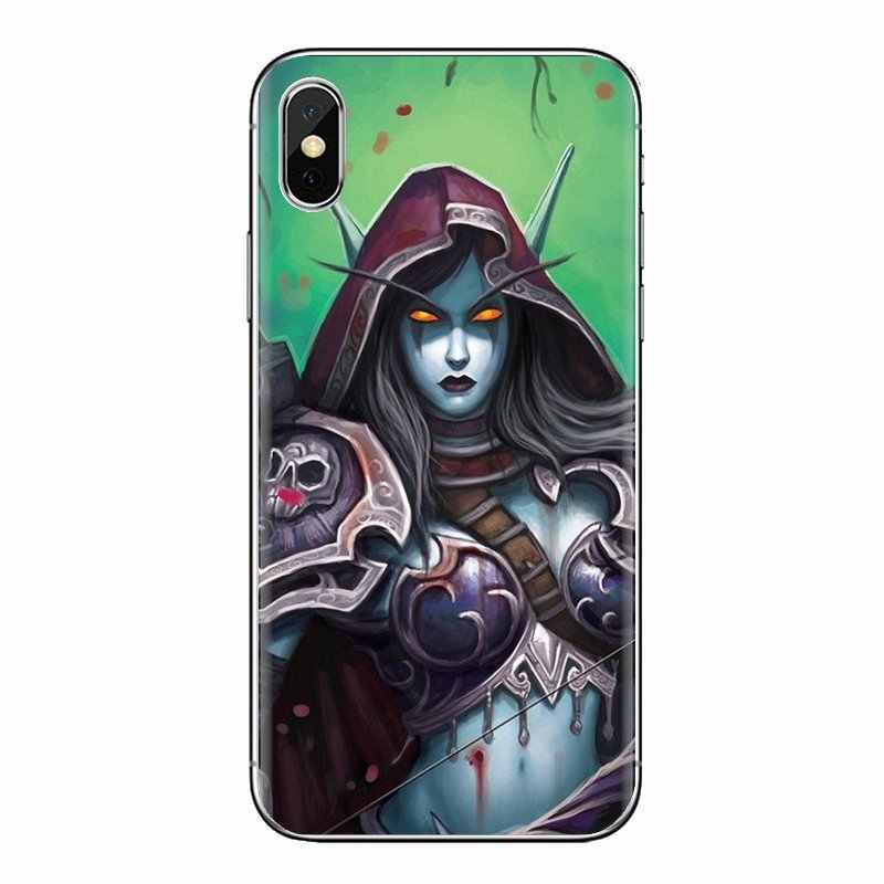Untuk Huawei Nova 2 3 2i 3i Y6 Y7 Y9 Prime Pro GR3 GR5 2017 2018 2019 Y5II Y6II Wow world Of Warcraft Sylvanas Silicone Skin Cover