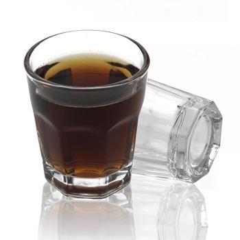 45ml Shot Bullet Cups przezroczysta mała pojemność żaroodporne szkło bez ołowiu białe wino piwo sok koktajl szkło przenośne tanie i dobre opinie JANKNG ROUND Ce ue Lfgb Szklanka Ekologiczne Zaopatrzony UI280010 Whisky Wine 55 x 48 mm
