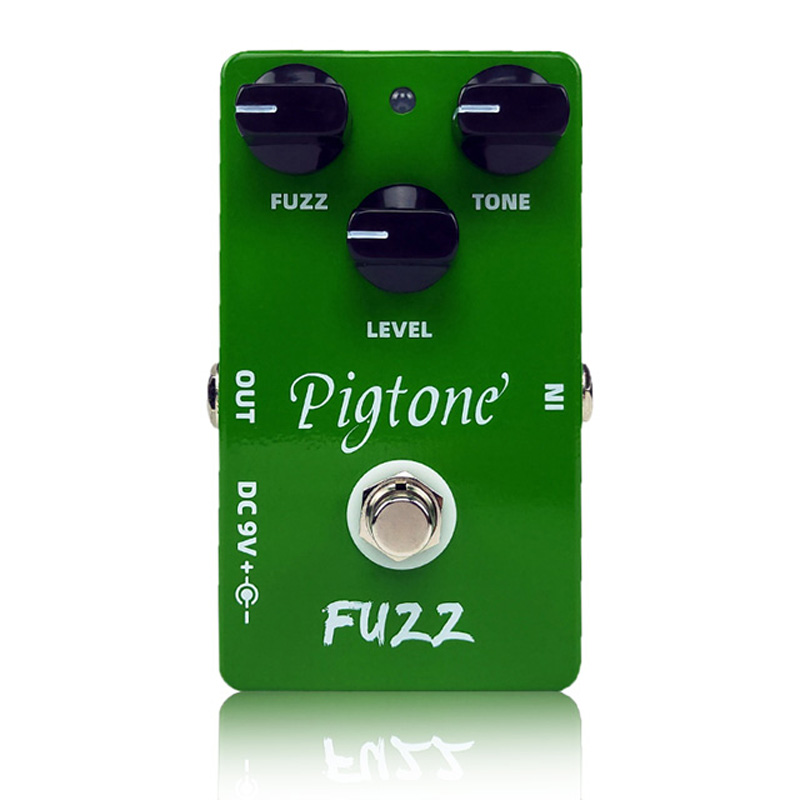 Pigtone PP-09 fuzz Guitar effect pedal acoustic electric guitar accessories effects pedals Real bypas image
