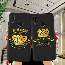 king queen luxury For Huawei P8 P10 P20 P30 Mate 10 20 Honor 8 8X 8C 9 V20 20i 10 Lite Plus Pro Case Cover Coque Etui Funda capa(China)