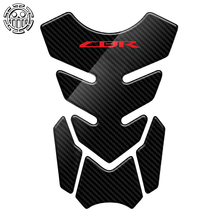 CBR Aufkleber Motorrad Tank Pad Protector Aufkleber Aufkleber Fall für Honda CBR 400 600 900 1000 RR 1100XX Tankpad 3D carbon Look