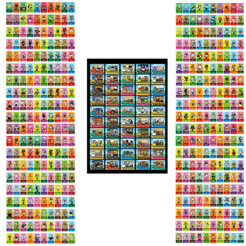 450Pcs Series 1 2 3 4 NFC Welcome Cards Animal Crossing Card Amiibo Card Work For NS Switch Game New Horizons Games