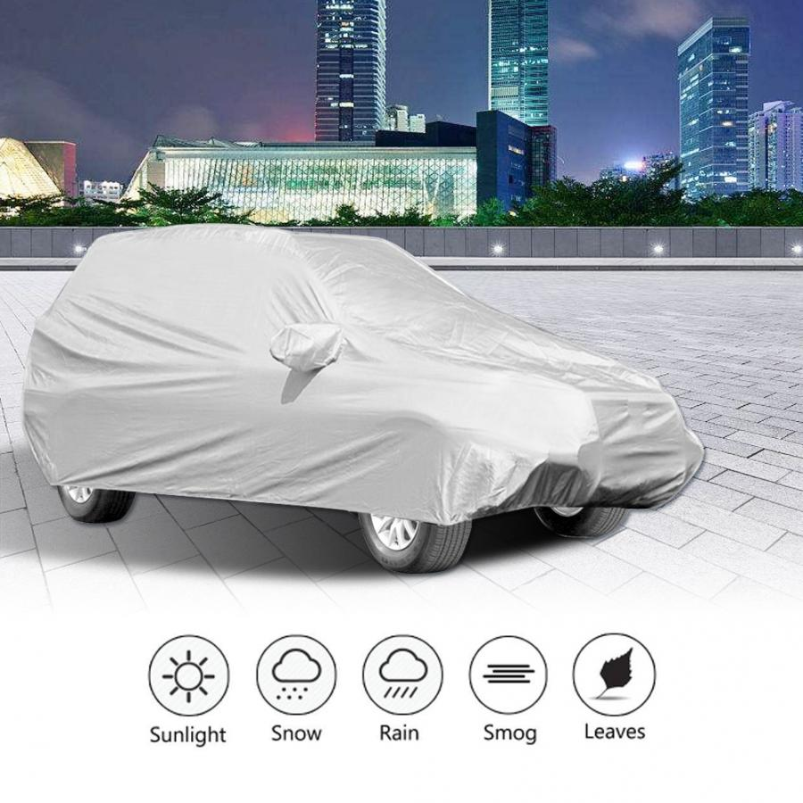 Car Cover for Toyota RAV4 Heavy Duty Breathable SUV Cover UV Protection