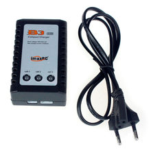 IMAX B3AC Kompak Charger Pro Lipo Baterai Adaptor 2S 3S 7.4V 11.1V Profesional Keseimbangan Charger + uni Eropa US UK AU Power Supply(China)