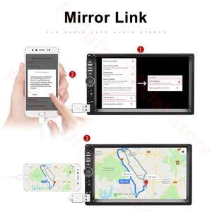 "Image 3 - Автомагнитола Podofo, мультимедийный плеер на Android, 2 Гб ОЗУ, 32 Гб ПЗУ, с 7 ""экраном, GPS, для Ford, VW Golf, типоразмер 2 Din"