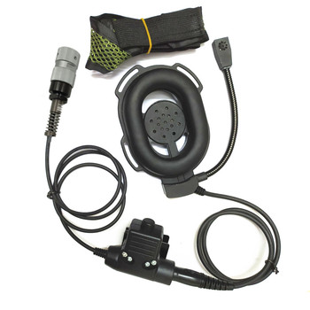 FengRuiTong headset for TRI TCA/AN  PRC-148 PRC-152 PRC-152A walkie-talkie, HD01 Tactical 6-pin