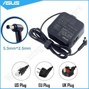 19V 3.42A 65W 5.5*2.5 milímetros ASUS Laptop Charger AC Power Adapter Fonte Para ASUS X54C X55L X401A X501A X502C X554L X555L A53S A55A