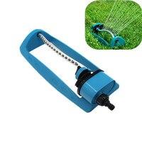 15 loch Oszillierende Rotary Sprinkler Rasen Bewässerung Sprinkler Rund Sprayer Wasser Sprinkler Micro Bewässerung Armaturen