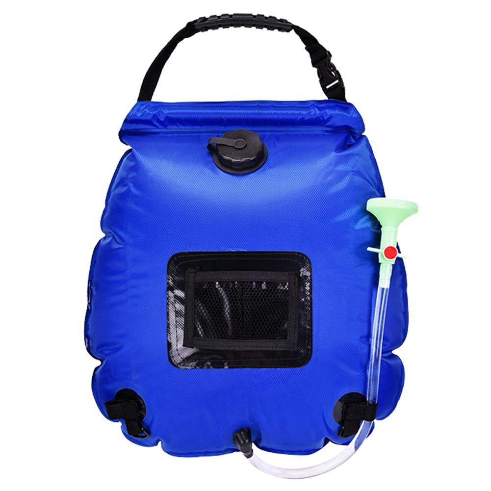 sac à douche bleu