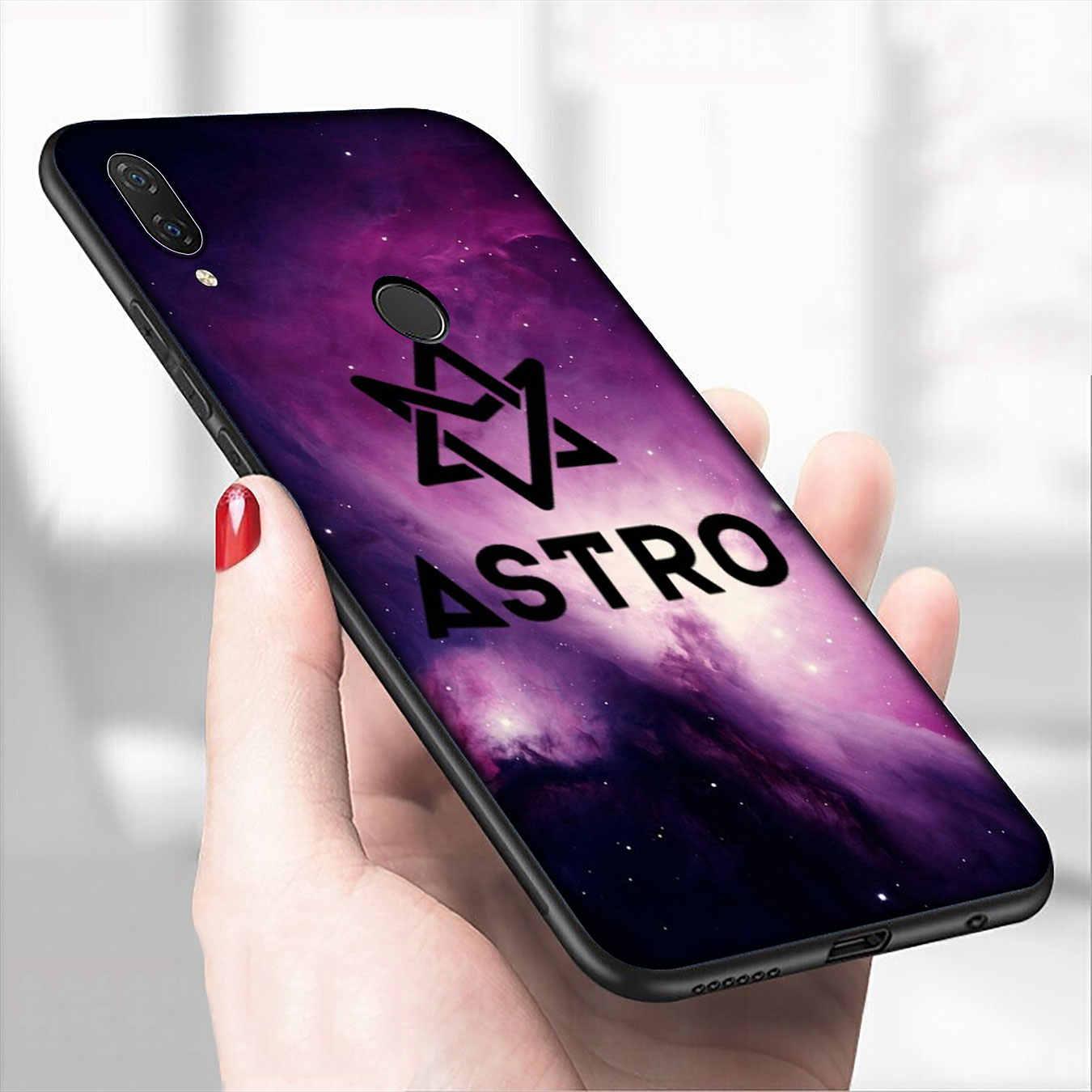 IYICAO KPOP ASTRO Hart vormige Zachte Siliconen Telefoon Case voor Xiaomi Redmi 8A 7A 6A 5A K20 S2 4A 4X note 8 7 6 Pro 5 Plus Cover