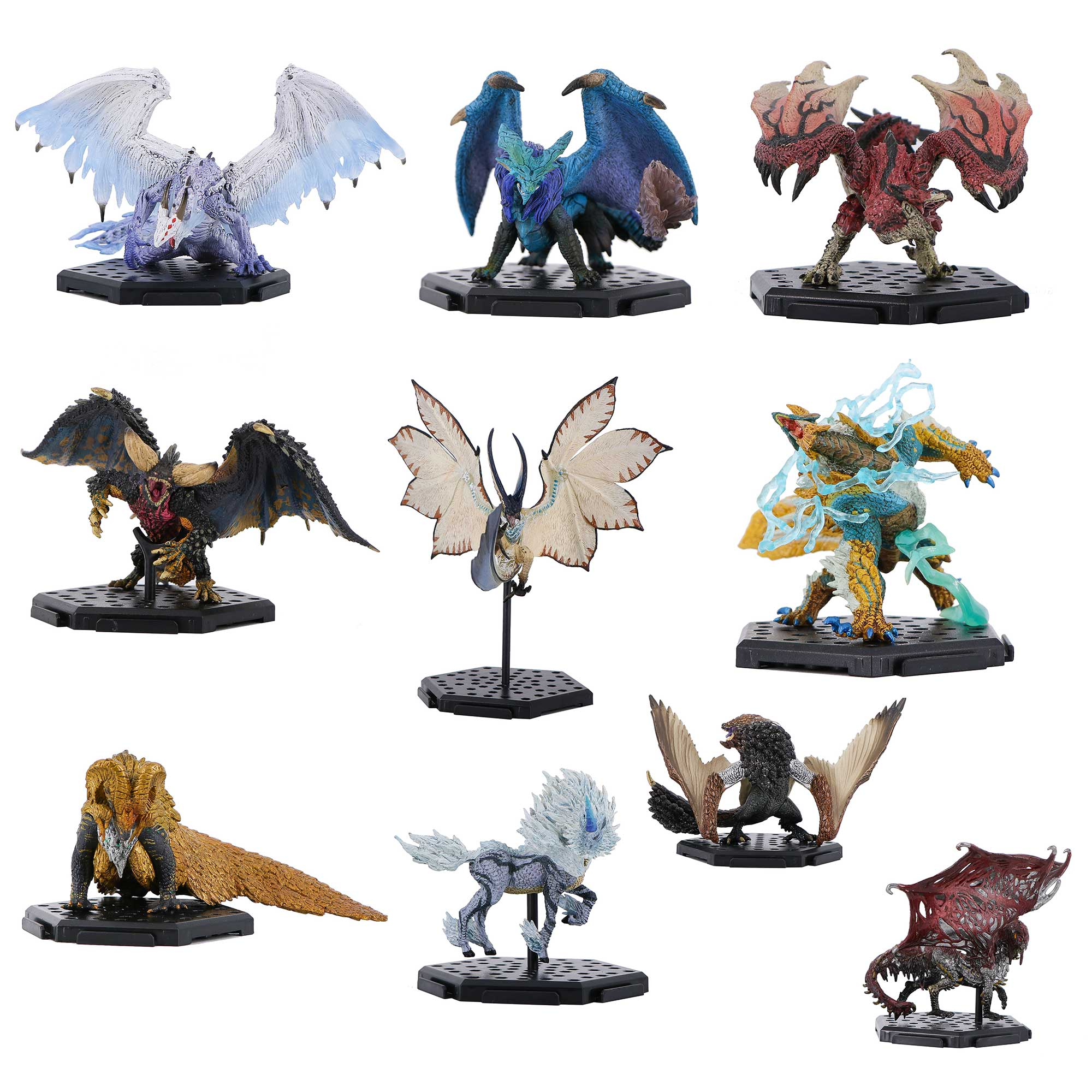 Monster Hunter Action Figure Hot Dragon Action Figure Collection Toy Dragon Decoration