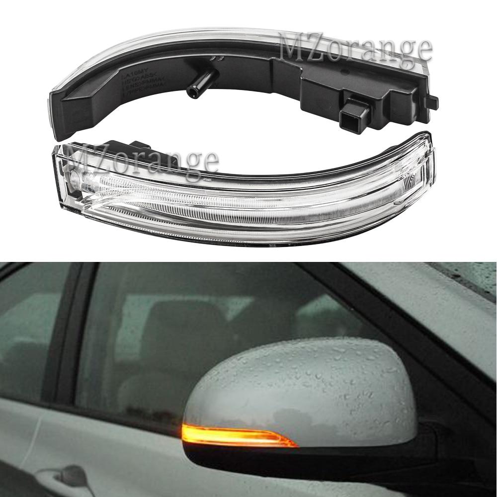 Left Driver Side White Turn signal Rear View Mirror For Hyundai Tucson 2016-2018