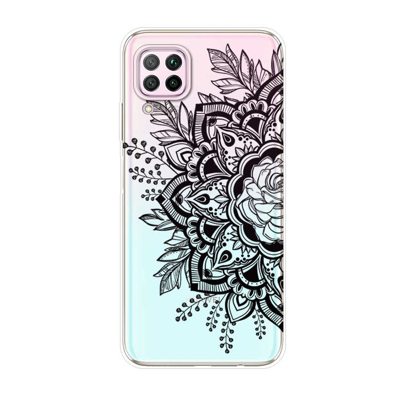 עבור Huawei P40 לייט מקרה slim חמוד שקוף ברור רך TPU הסיליקון חזרה כיסוי עבור Huawei P40Lite p 40 פרו 2020 מקרי טלפון