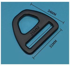 20/25/38 мм тесьма, авиационная алюминиевая треугольная пряжка, слайдер, Регулируемая пряжка для ремней рюкзака, треугольная пряжка для ремня