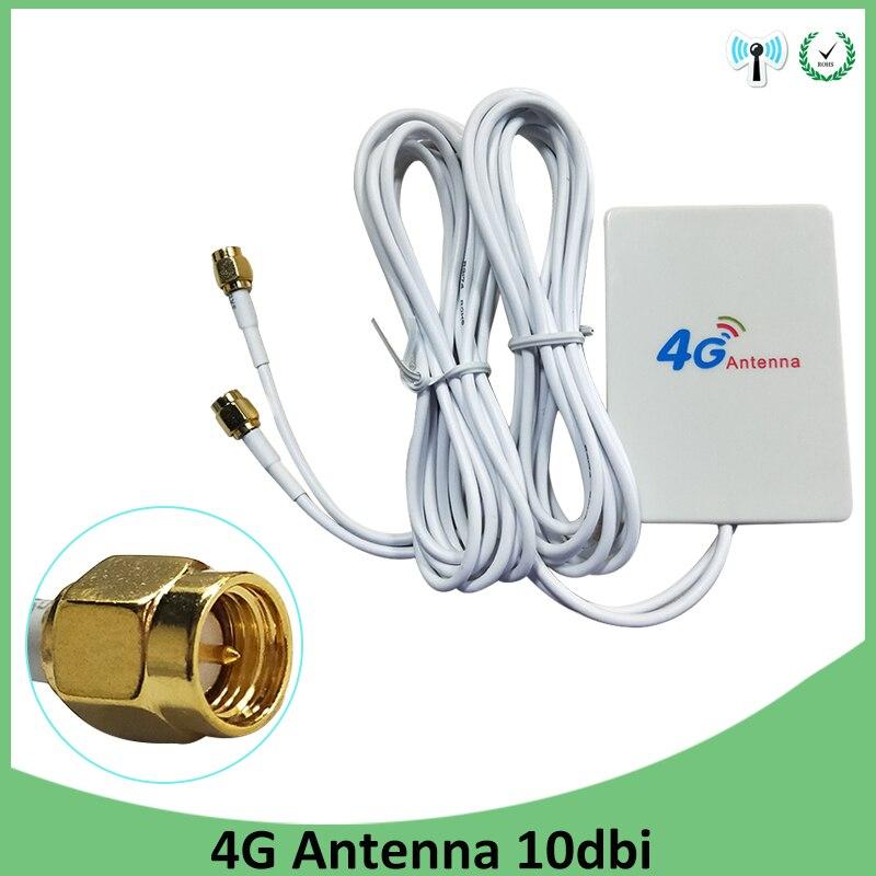 Wifi Antenna Antena 4g Cellular Booster Car Para Modem Sma 3g Hf Telephone Longo Alcance Signal Router Lte Gsm Wi-fi Carro