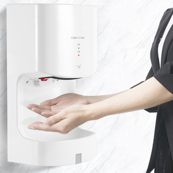 AOSHA Hand Dryer 1000W Hot and Cold Air Full Automatic Sensing Hand Drying Machine Bathroom Restroom Hotel Electric Hand Dryer 1