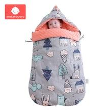 цена на Winter Warm Newborn Baby Sleeping Bag Infant Baby Sleepsacks Swaddle Wrap Stroller Toddler Swaddling Wrap Blanket Sleeping Bags