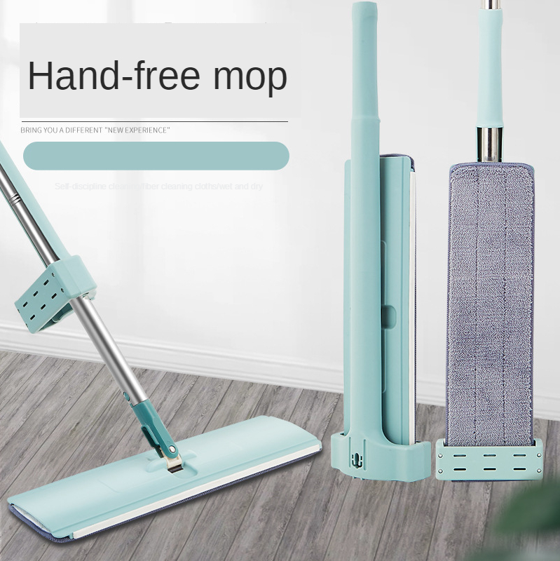 Wonderlife_aliexpress Xiaomi Squeeze Mop Mopa for Wash Floor Cleaning Tools Lazy Household Clean Tool Mops Lightning Offers Flat