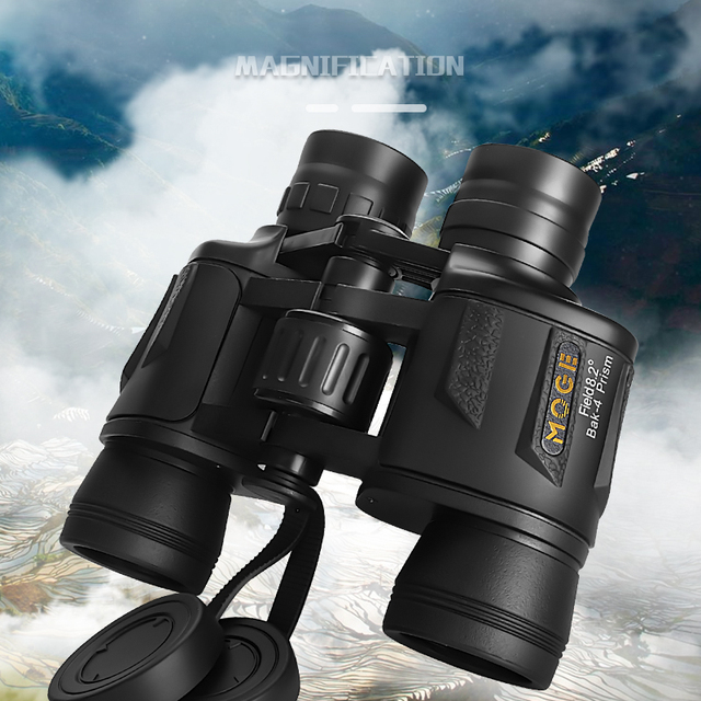 New 8X40 Professional Powerful Binoculars Long range Large Eyepiece Telescope HD  Concert Outdoor Camping Equipment 1