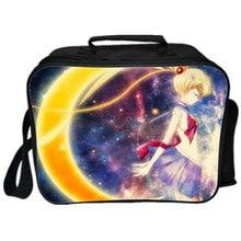 Sailor Moon Lunchbox Bag Cute Cartoon Handbag Lunch For Kids School Small Lunchbox Hand Messenger Picnic Food Bags