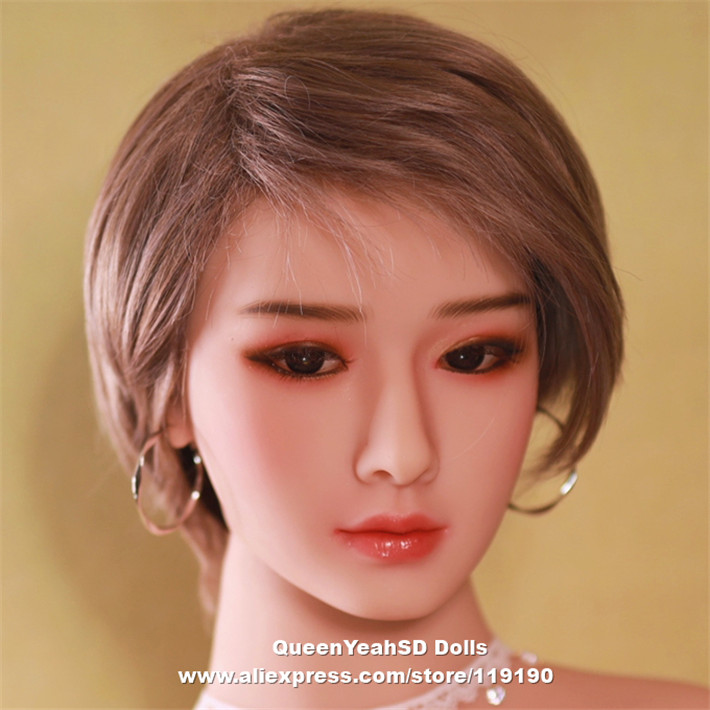 Oral <font><b>Sex</b></font> Realistic <font><b>Sex</b></font> <font><b>Doll</b></font> Head Tpe <font><b>Sex</b></font> <font><b>Doll</b></font> Heads For Lifelike Love <font><b>Dolls</b></font> From 140CM To <font><b>175cm</b></font> <font><b>Doll</b></font> Height image