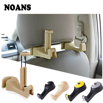 NOANS 1pcs Multifunction Car Back Seat Mobile Phone Frame Storage Hook For Honda Civic 2017 Skoda Octavia a7 a5 Mazda 3 6 CX-5 image