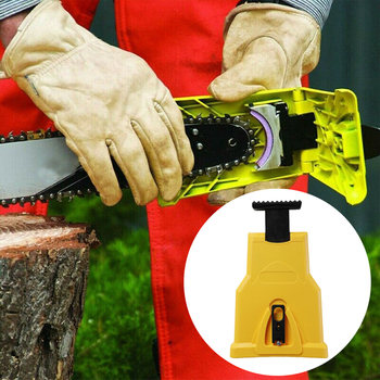 Chainsaw Teeth Sharpener chainsaw Portable Durable Easy Power Sharp Bar-Mount Fast Grinding Chainsaw Chain Sharpener Tool competitive products 325 058 64dl chainsaw chains