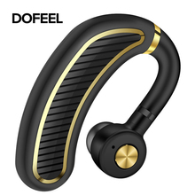 Dofeel Bluetooth 5.0 HiFi Business Wireless Earbuts Noise Reduction Earphone for Driver Sport Handsfree Headphones for iphone6,7