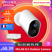 IMILAB EC2 cámara inalámbrica de 1080P HD cámara Ip cámara exterior wi-fi casa inteligente cámara de seguridad IP66 CCTV video cámara de vigilancia