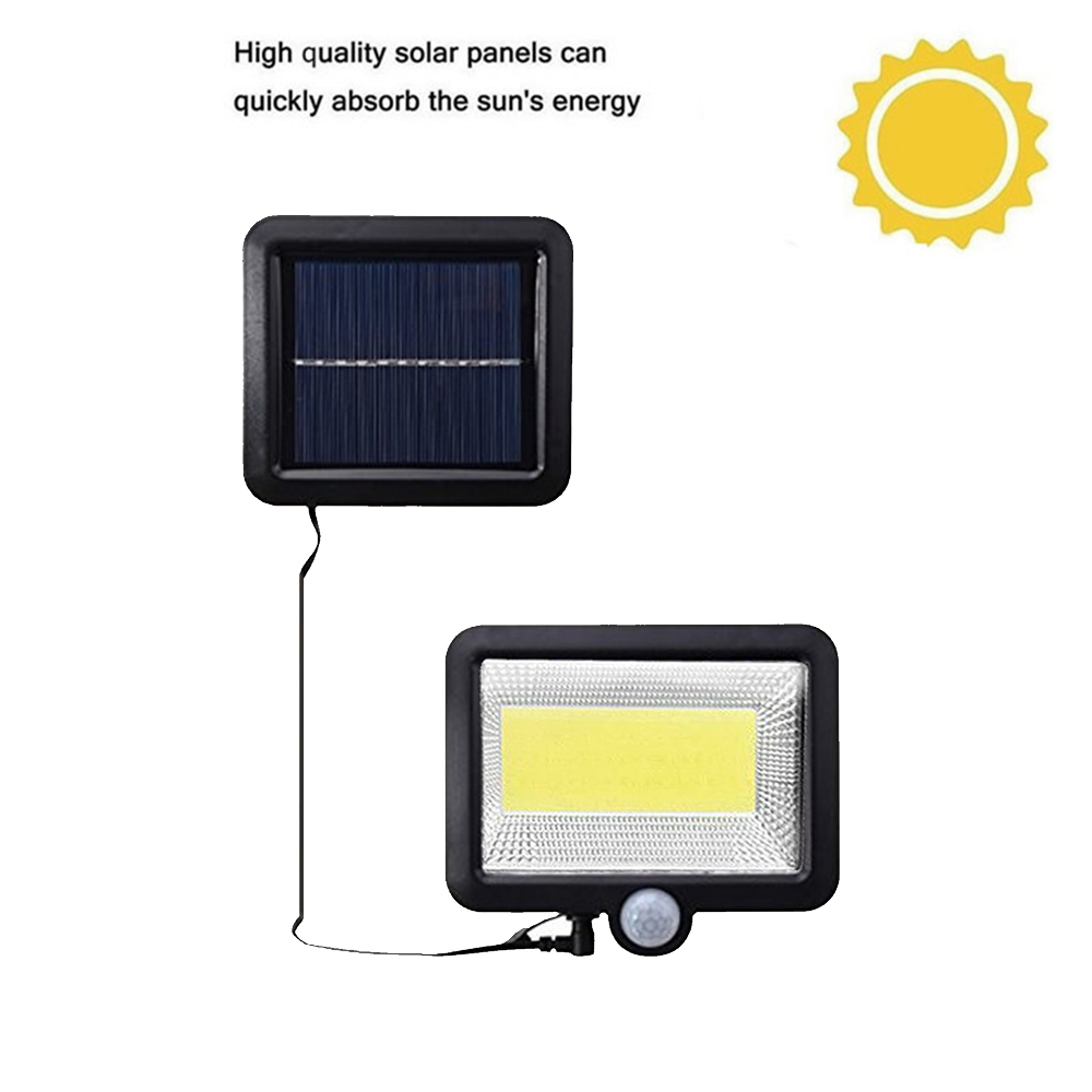 LED Solar Light 56/30 Led Solar Lamp Outdoor Light Security Wireless Waterproof With PIR Motion Sensor Light UltraThin Split Mou