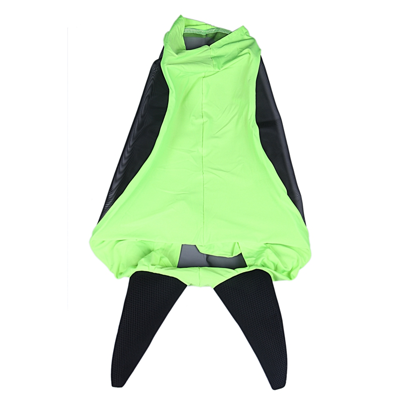 TOP!-Comfort Soft Mesh Lycra Horse Fly Mask With Ears-Our Soft 4 Way Stretch Design Is Easy On Sensitive Ears&Eyes Green